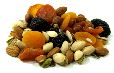 Nuts, Dried Fruits, and Seeds