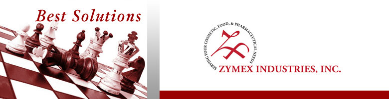 Zymex Logo and Image of Chess Game Won
